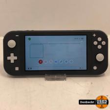 Nintendo Switch Lite Grijs   Met lader   Met garantie