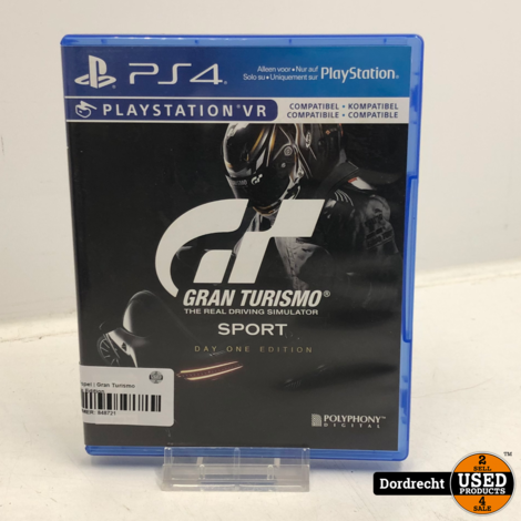 Playstation 4 spel   Gran Turismo Sport Day One Edition