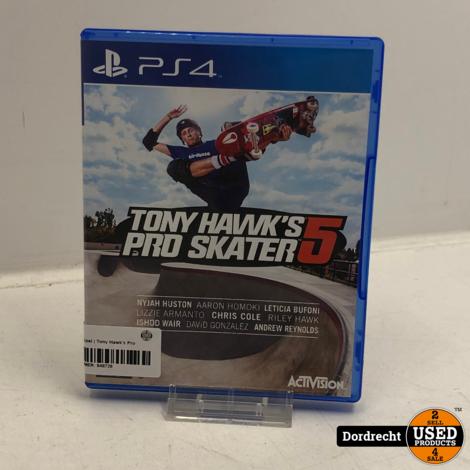 Playstation 4 spel   Tony Hawk's Pro Skater 5