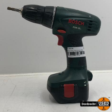 Bosch PSR 12 Boormachine | Met 2 accus en lader | In kist | Met garantie