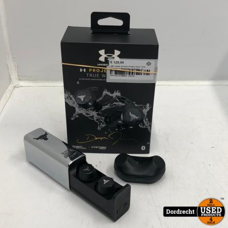 JBL Under Armour Project Rock True Wireless X Bluetooth oordopjes | In doos | Met garantie