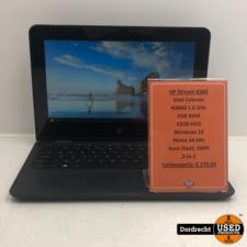 HP Stream x360 11-aa000nd 2-in 1 laptop | Intel Celeron 32GB HDD 2GB RAM Windows 10 | Met garantie