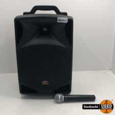 JB systems PPA-101 draagbaar geluidssysteem   klepje zit los   Met garantie