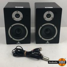 Devine MR-5A actieve studiomonitor / Speakers (set van 2)   Met garantie tot 09-07-2023