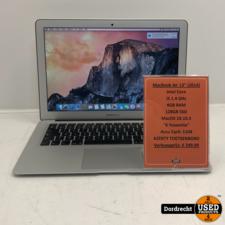 Macbook Air 2014 (Azerty toetsenbord) Intel Core i5 128GB SSD 4GB RAM Intel HD Graphics 5000   Met garantie
