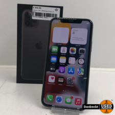iPhone 11 Pro 256GB Space Gray   In doos   Met garantie