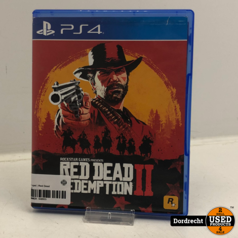 Playstation 4 spel | Red Dead Redemption 2