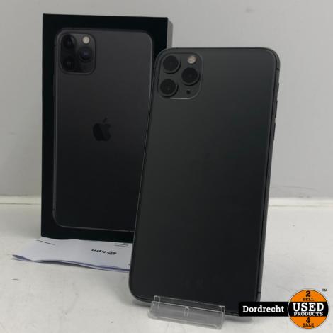iPhone 11 Pro Max 64GB space gray | In doos | Met originele factuur
