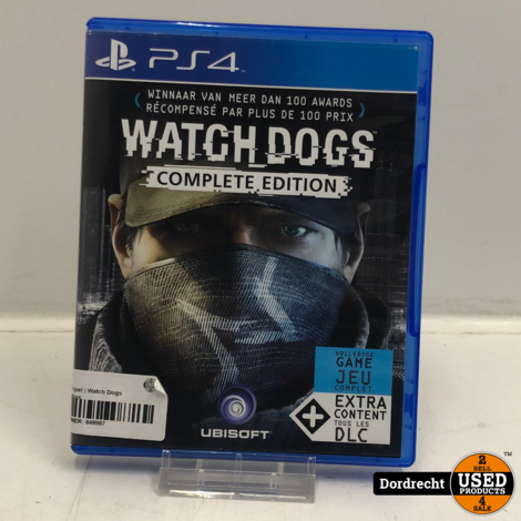 Playstation 4 spel | Watch Dogs Complete Edition