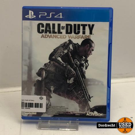 Playstation 4 spel   Call of Duty - Advanced Warfare