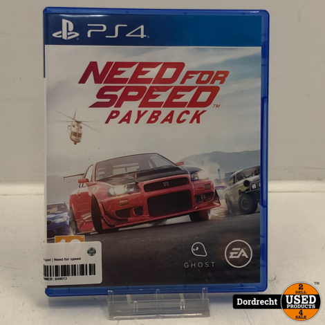 Playstation 4 spel | Need for speed payback