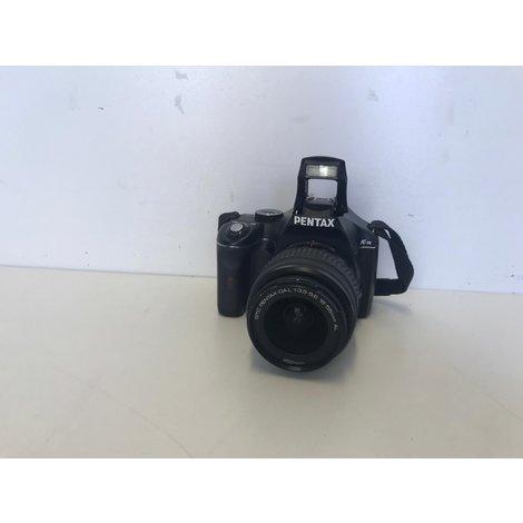 Pentax K-M Spiegelreflexcamera met 18-55 lens | ZGAN MET GARANTIE