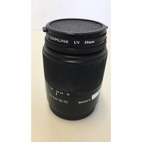 Sony 3.5-5.6/18-70 Lens I GEBRUIKT MET GARANTIE