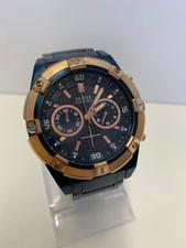 guess Guess W0377G4 Blauw Horloge I ZGAN MET GARANTIE