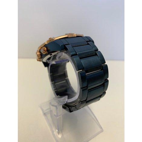 Guess W0377G4 Blauw Horloge I ZGAN MET GARANTIE