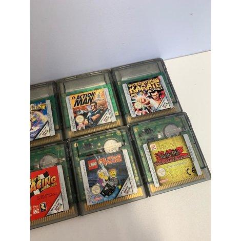 Partij Gameboy Color Games 8 Stuks I GEBRUIKT