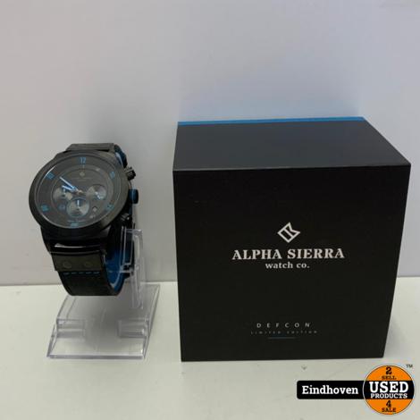 Alpha Sierra Defcon Limited Edition   NIEUW MET GARANTIE