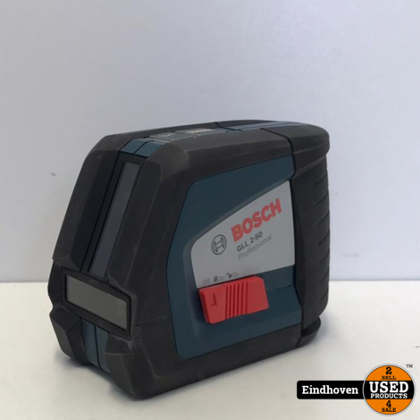Bosch GLL 2-50 Professional Laseraparaat | ZGAN MET GARANTIE
