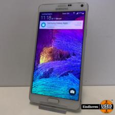Samsung Samsung Note 4 32GB Wit I ZGAN MET GARANTIE