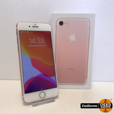 Apple iPhone 7 128GB Rose Gold I ZGAN MET GARANTIE