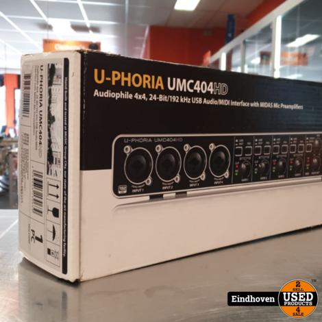Behringer UMC404HD in doos