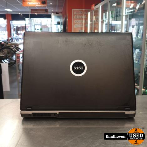 MSI EX600 laptop - 15.4 inch - Windows 10