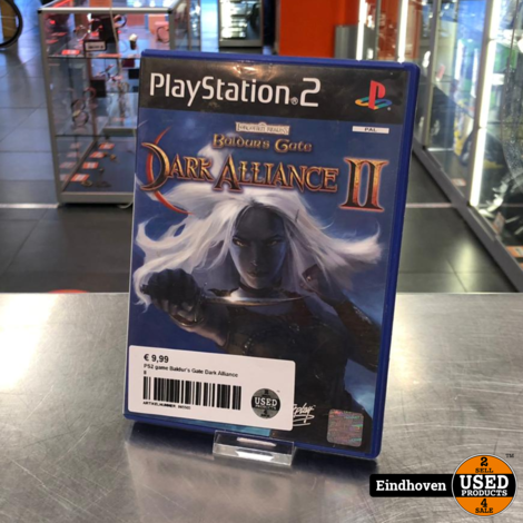PS2 game Baldur's Gate Dark Alliance II