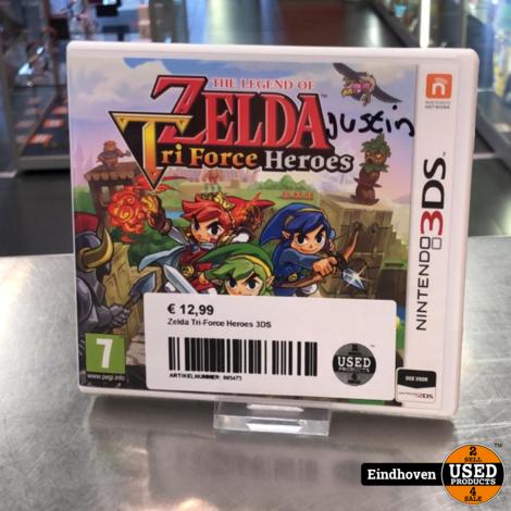 Zelda Tri-Force Heroes 3DS