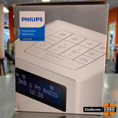 Philips AJB4300W DAB+ radio in doos