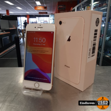 Apple iPhone 8 64GB Gold in nette staat