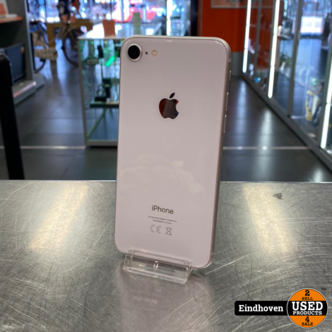 Apple iphone 8 Wit 64GB 3 maanden garantie