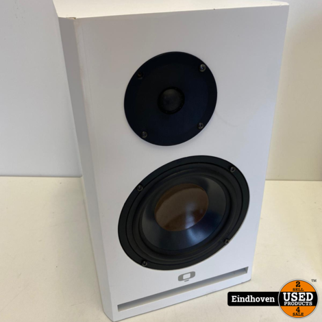 Q speakers white