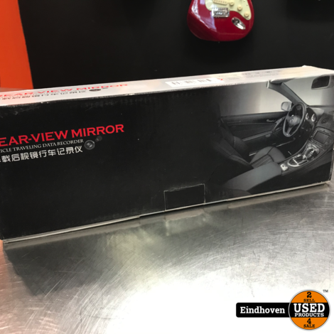 Rear Black Mirror Camera   Met garantie