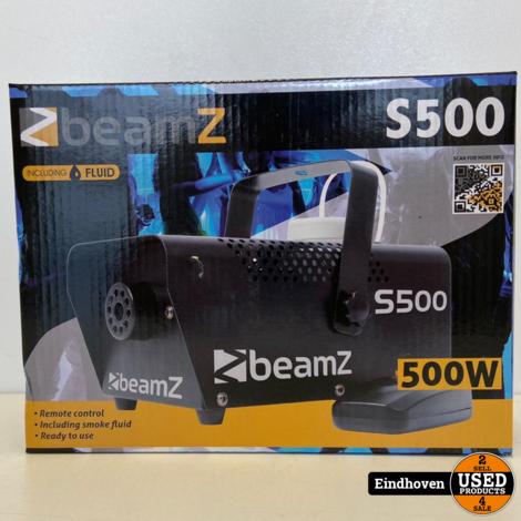 BeamZ S500 Rookmachine | NIEUW MET VOORDEEL