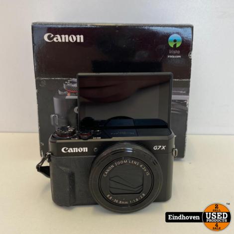 Canon Powershot G7 X Mark 2 | Compleet in doos