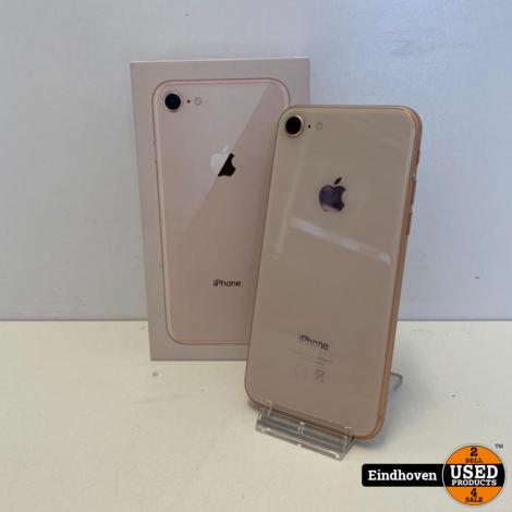 iPhone 8 64GB Roze | In doos | Met garantie