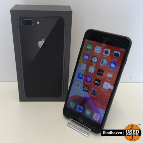 iPhone 8 plus 64GB Zwart | In doos | Met garantie