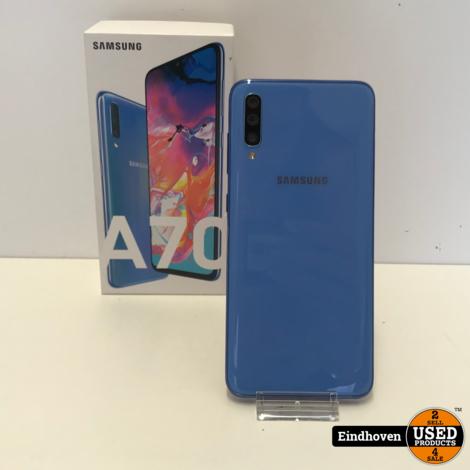 Samsung Galaxy A70 128GB   In doos   Met garantie
