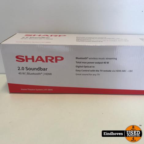 Sharp 2.0 Soundbar | Compleet in doos | Met garantie