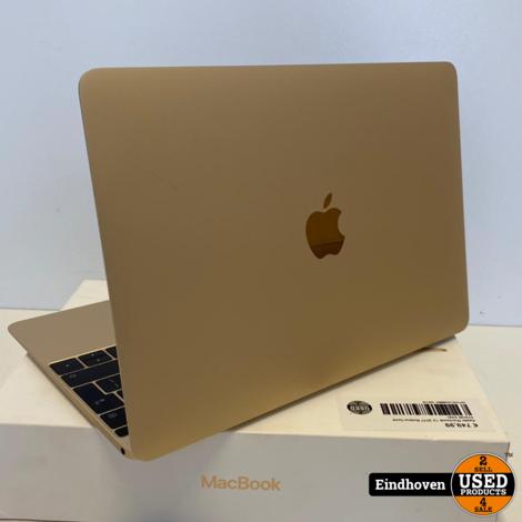Apple Macbook 12 2017 Retina Gold 512GB SSD