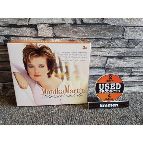 3CD - Monika Martin - Sehnsucht nach Dir