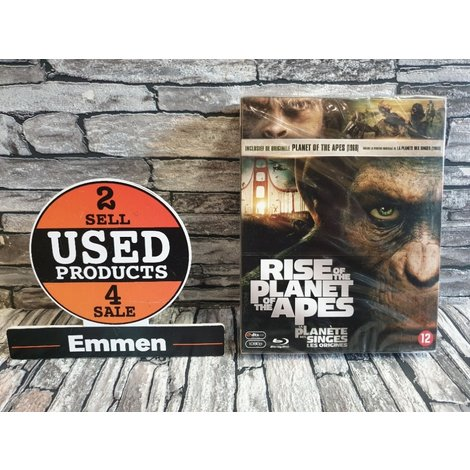 Blu-Ray BOX - Rise of the Planet of the Apes (NIEUW)