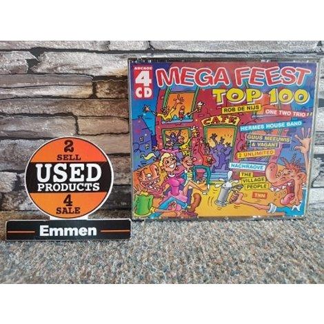 4 CD - Mega Feest Top 100
