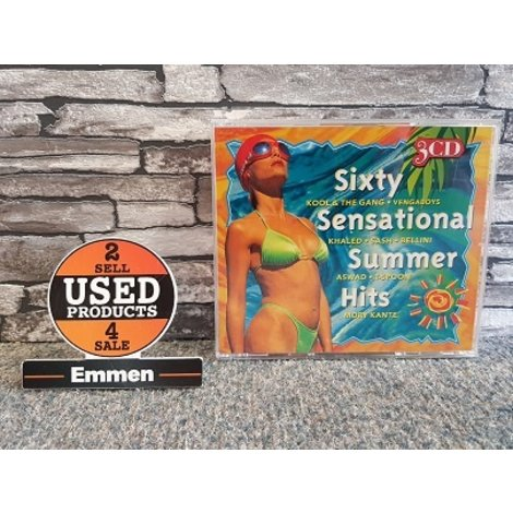 3 CD - Sixty Sensational Summer Hits