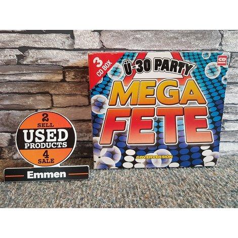 3 CD - Ü-30 Party - Mega Fete