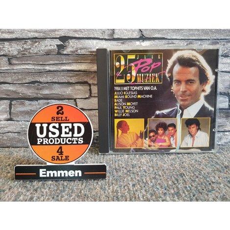 CD - 25 Jaar Popmuziek - 1984