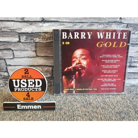 2 CD - Barry White - Gold
