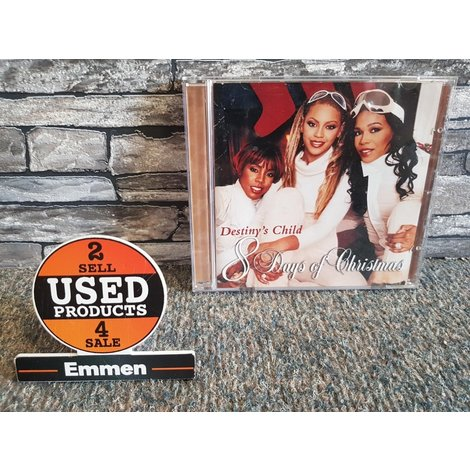 CD - Destiny's Child - 8 Days of Christmas