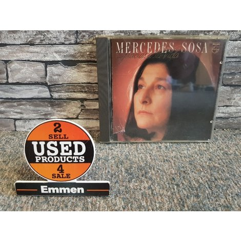 CD - Mercedes Sosa - Gracias a la Vida