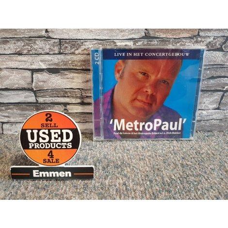 2CD - Paul de Leeuw - MetroPaul - Live in het Concertgebouw